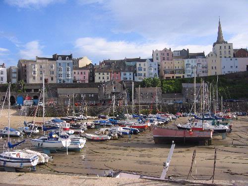 Wales coastal town