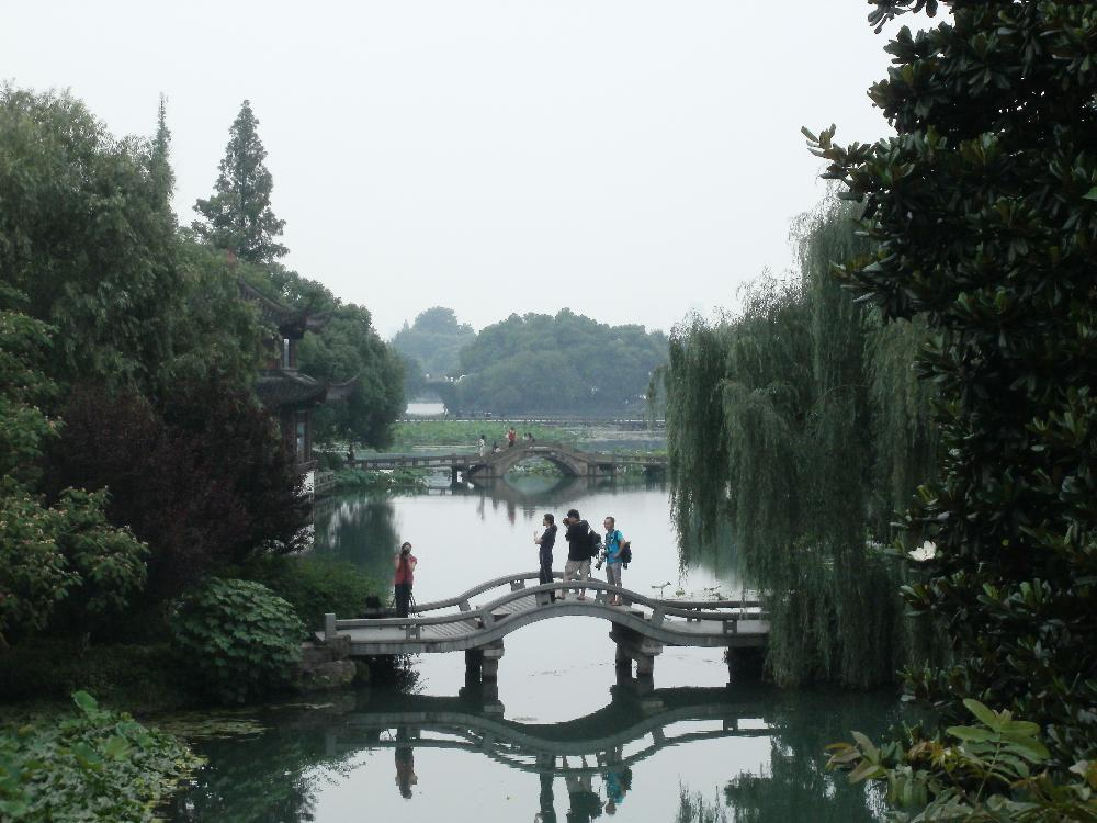Lake in Hangzhou