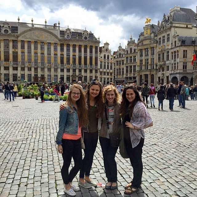 On excursion in Brussels