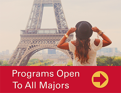 Programs Open to All Majors