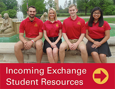 Incoming Exchange Student Resources