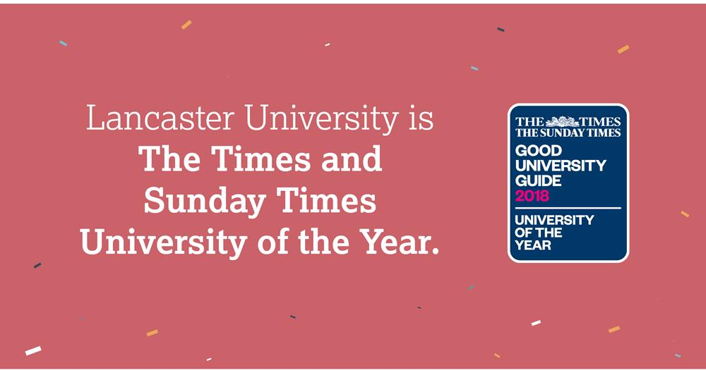 Lancaster Uni of the Year